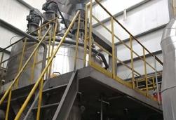 我公司正在山东蒸汽动能磨项目取得用户好评