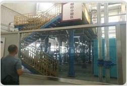 年产1万吨锂电池负极材料生产线