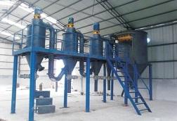 年产5000吨磨料微粉精密分级生产线