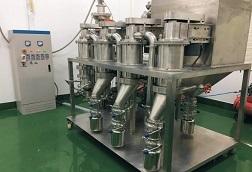 某高校高端材料多级气流分级实验机组